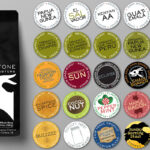 Coffee Packaging with Labeling System