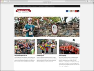 Main Street Marathon Home Page