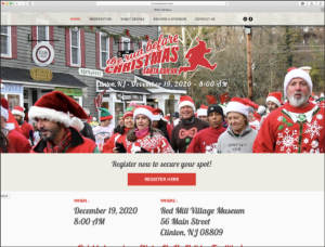 Run Before Christmas Home Page